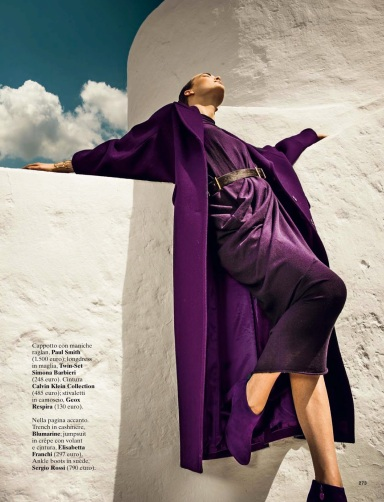 Egle Jezepcikaite By Thanassis Krikis For Glamour Italia September 2013