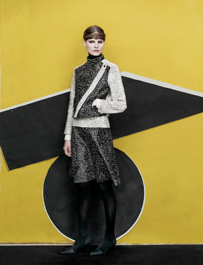 Fashion photographer Sarah Moon photographed the highlights of the Fall 2013 collections for Neiman Marcus' iconic campaign, The Art of Fashion.