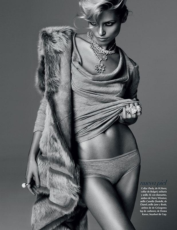 Hana Jirickova by David Roemer for Vogue Mexico September 2013