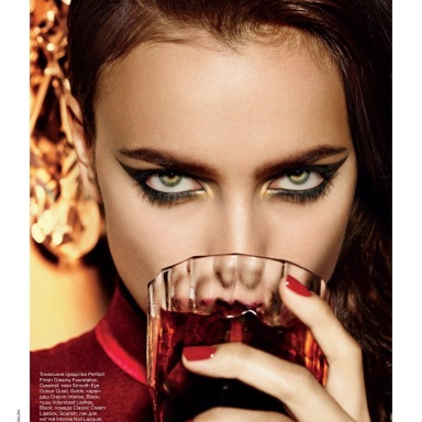 Irina Shayk by Giampaolo Sgura for Allure Russia September 2013