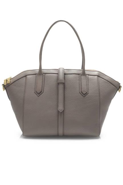 J. Crew Tartine Satchel In Pebbled Leather, $260