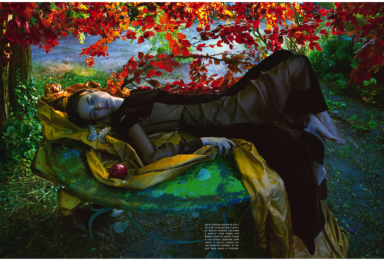 Jac Jagaciak by Camilla Akrans for Vogue Italia September 2013 Haute Couture Supplement