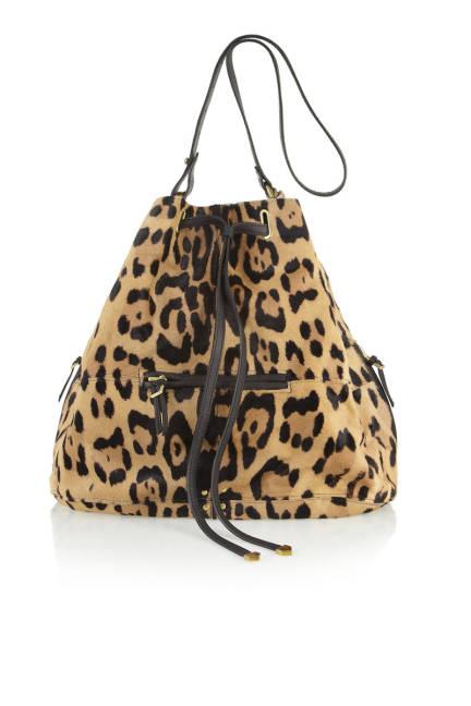 Jérôme Dreyfuss Alain Calf Hair Bucket Bag, $1,900