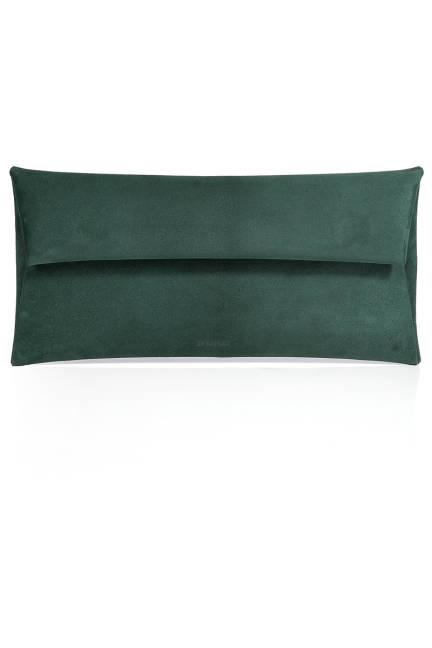Jil Sander Leather Envelope Clutch, $725