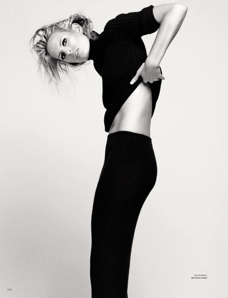 Karolina Kurkova by David Roemer for Harper's Bazaar Russia September 2013