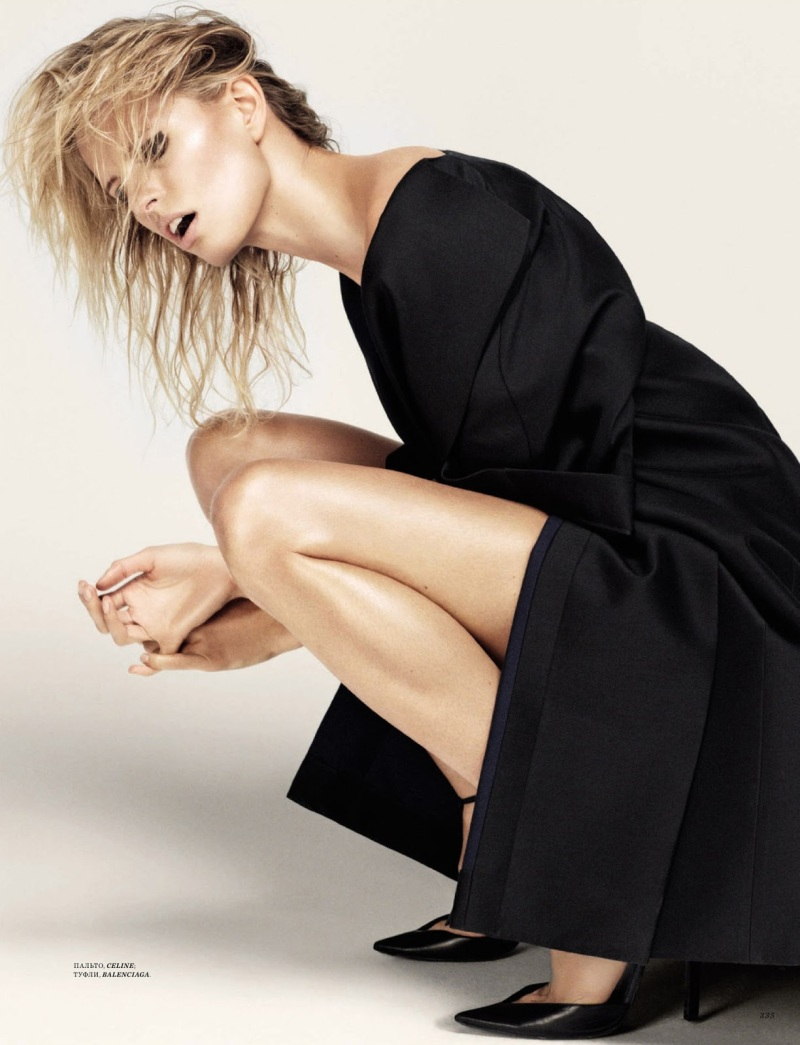 Karolina Kurkova by David Roemer for Harper's Bazaar Russia September 2013