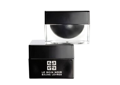 Le Soin Noir Gommage et Baume Lèvres, Givenchy, 79 €.