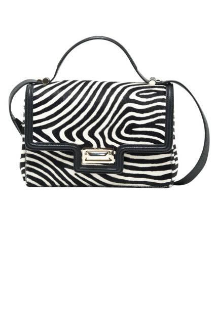 Max Mara Printed Calf-Hair Handbag, $1,150