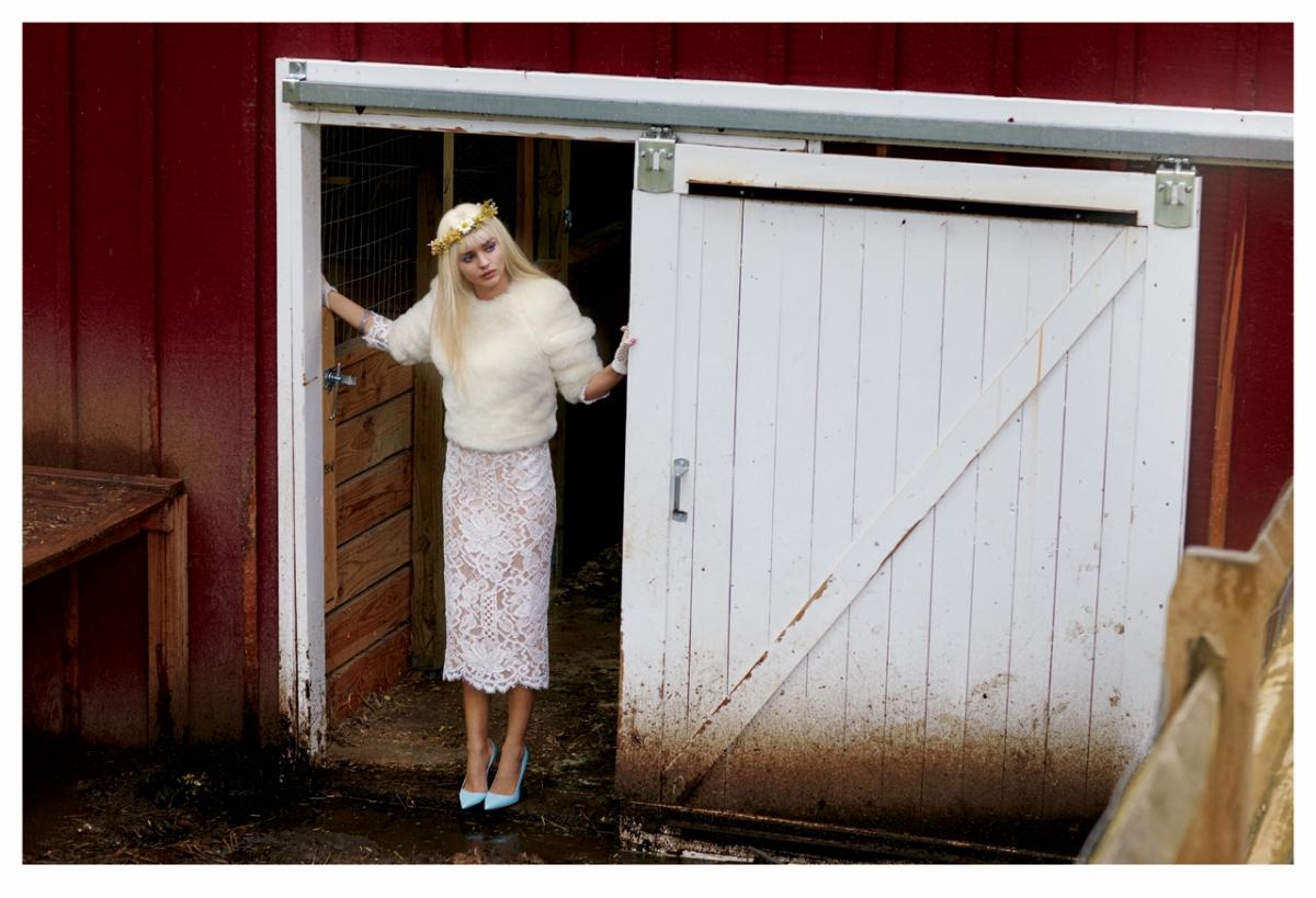 Miranda Kerr by Sebastian Faena for V #85 FALL 2013
