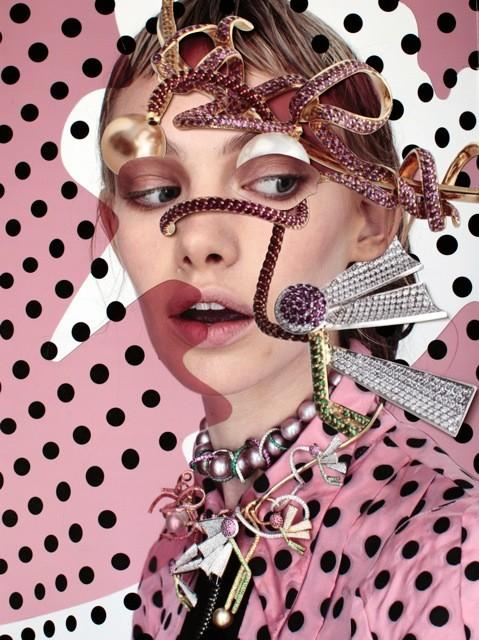 """""""Mood Match"""" by Damien Blottiere for Vogue Gioiello September 2013"""