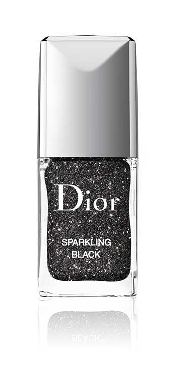 Nail Sparkling Black Powder by Dior