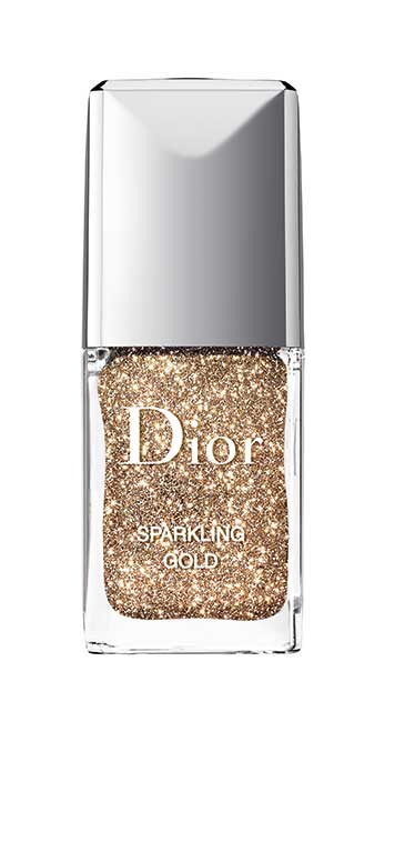Nail Sparkling Gold Powder by Dior
