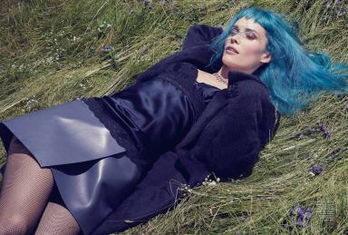 Oh Land by Robbie Fimmano by Vogue Australia September 2013