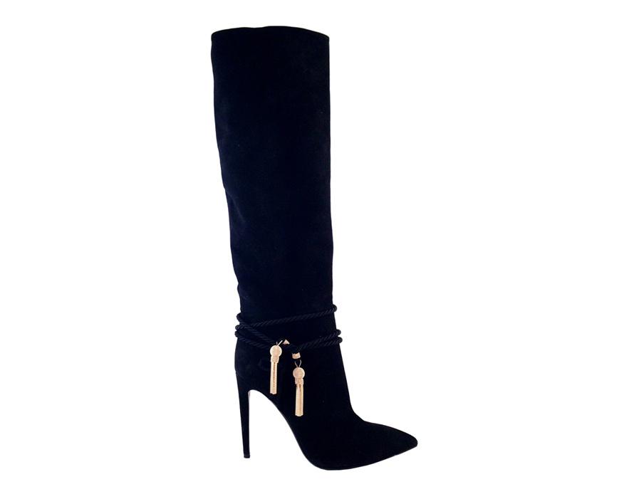 Ralph Lauren Collection Velour calfskin boots, price on application