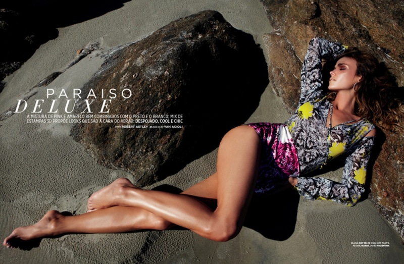 Renata Kuerten by Robert Astley for Mares Brazil #18