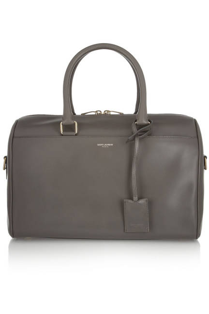 Saint Laurent Classic Duffel 6 Leather Bag, $1,990