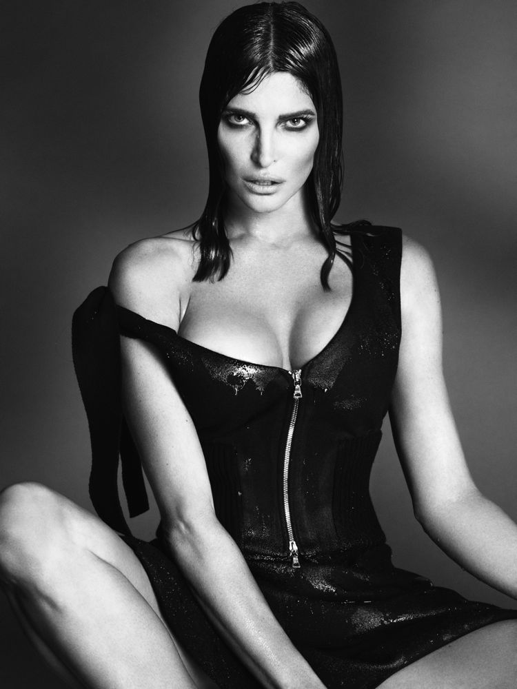 Stephanie Seymour by Mert Alas and Marcus Piggott for Interview September 2013