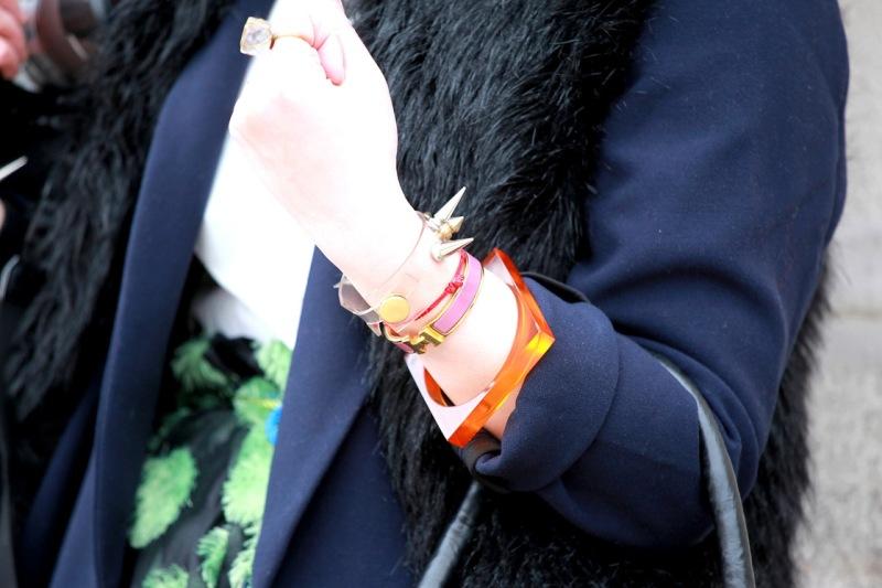 Street Style Inspiration : Bracelets Photo by Stefano Coletti