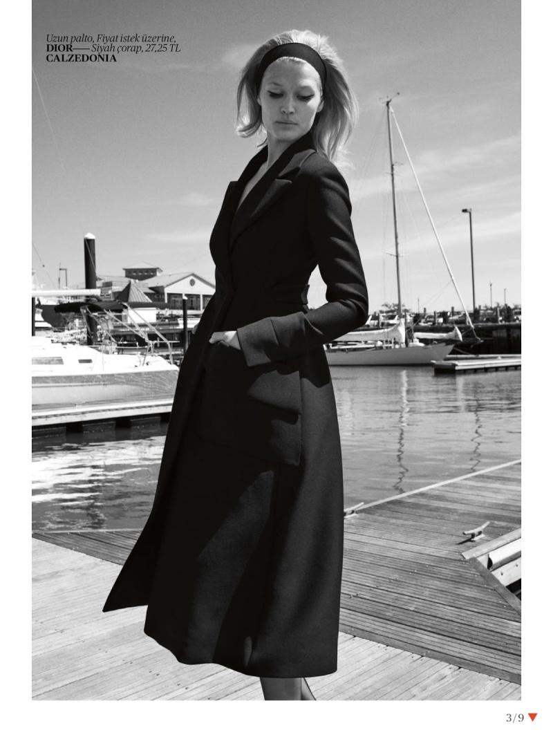 Toni Garrn By Cedric Buchet For Vogue Turkey September 2013