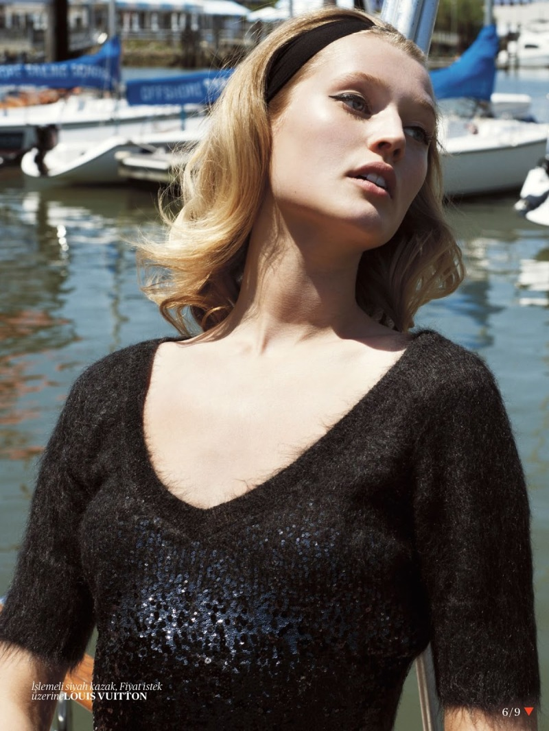 Toni Garrn By Cedric Buchet For Vogue Turkey September 2013