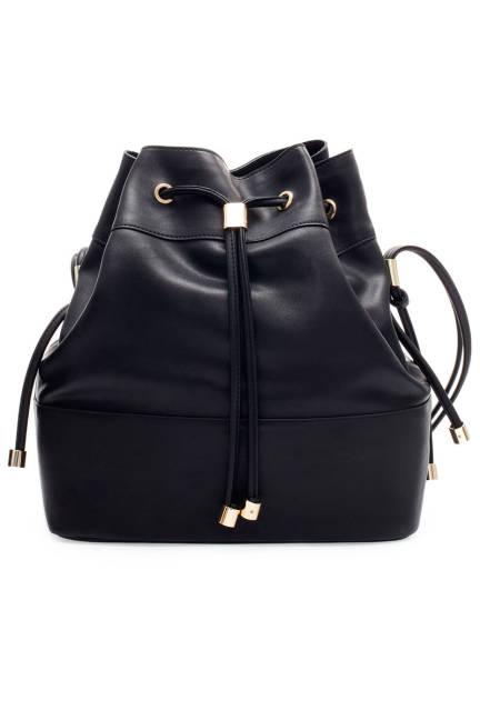 Zara Bucket Bag With Metal Detailing, $79.90