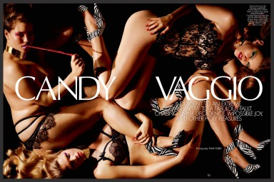 """Candy Vaggio"" by Tom Ford for CR Fashion Book #3"