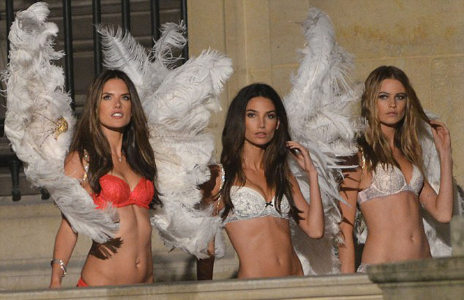 Alessandra Ambrosio, Lily Aldridge and Behati Prinsloo