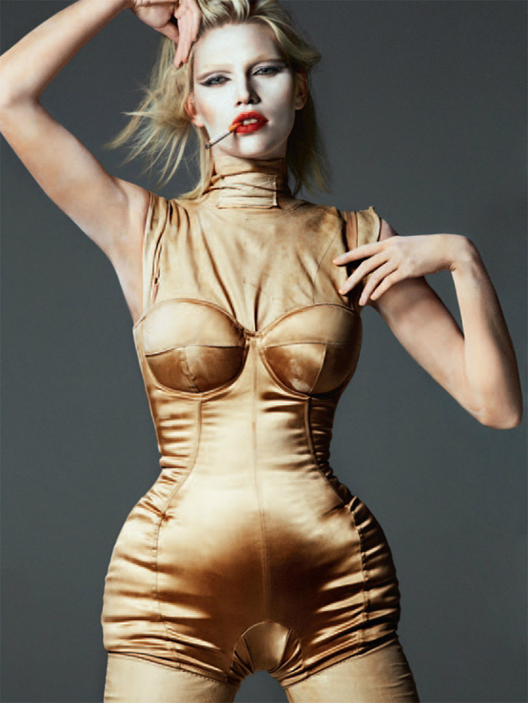 Aline Weber By Txema Yeste For Tush Magazine Fall 2013