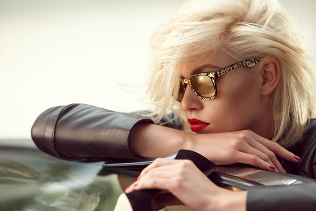 Aline Weber for Carrera by Jimmy Choo