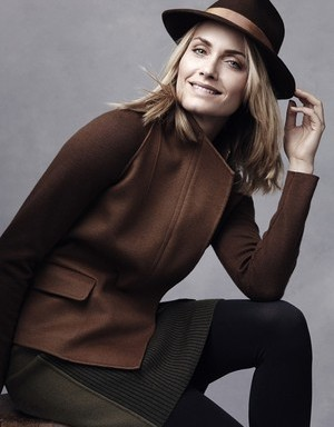 Amber Valletta wearing pieces from her Master & Muse's selection for Yoox. Photo By Photo by Craig McDean