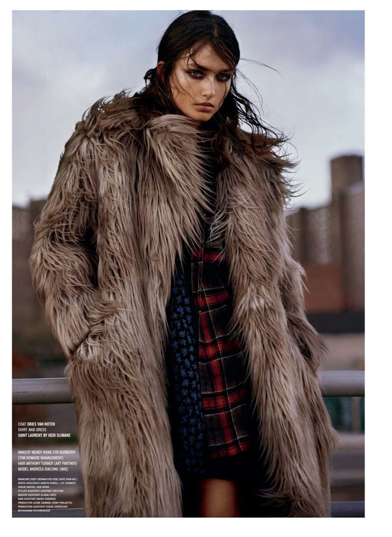 Andreea Diaconu by Alasdair McLell for V #85 Fall 2013