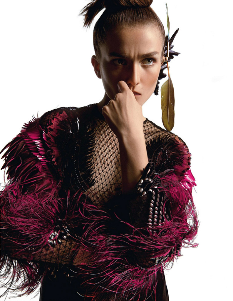 Andreea Diaconu By Inez & Vinoodh For Vogue Paris October 2013