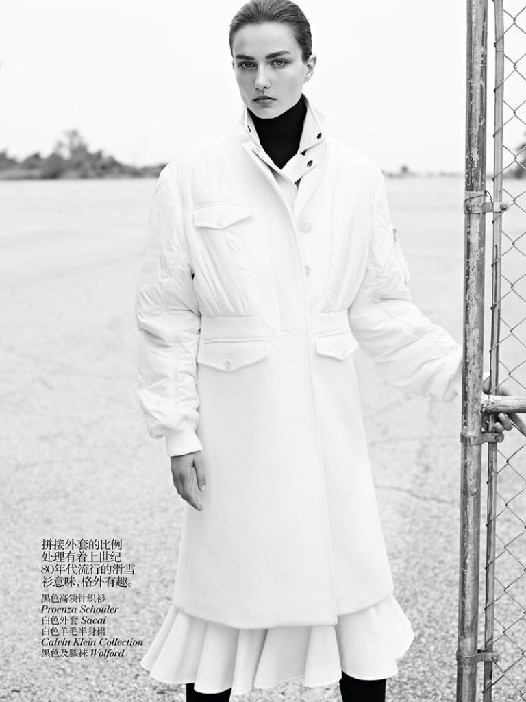 Andreea Diaconu By Karim Sadli For Vogue China October 2013 Andreea Diaconu By Karim Sadli For Vogue China October 2013