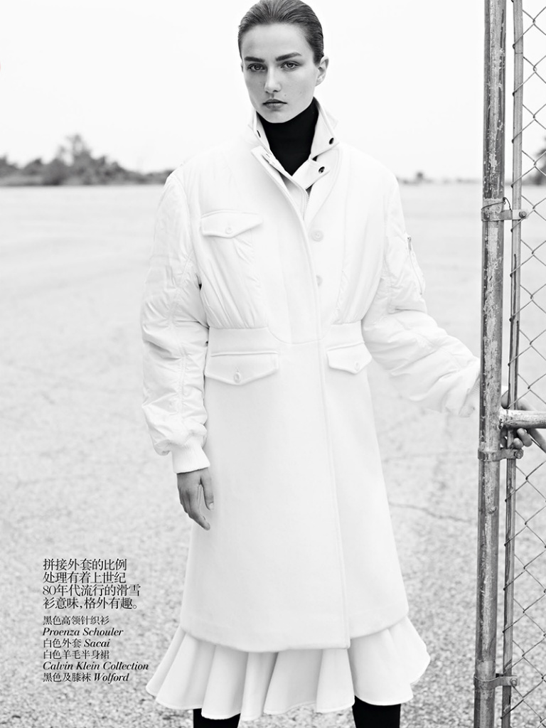 Andreea Diaconu By Karim Sadli For Vogue China October 2013 Andreea Diaconu By Karim Sadli For Vogue China October 2013