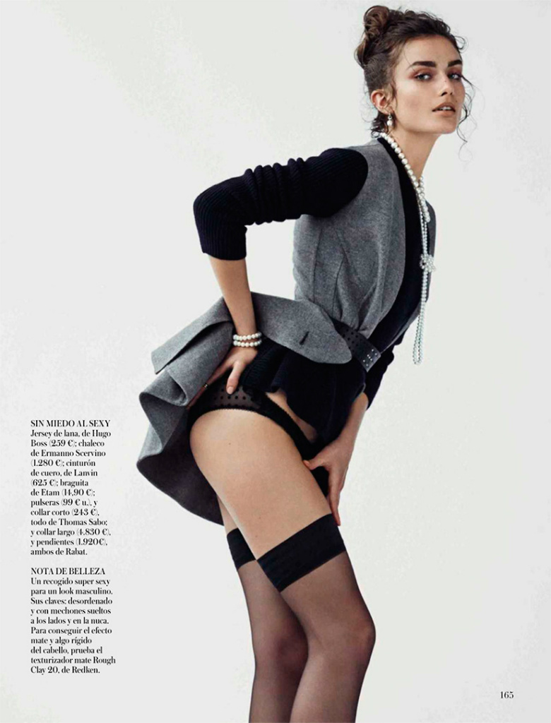 Andreea Diaconu By Mariano Vivanco For Vogue Spain October 2013