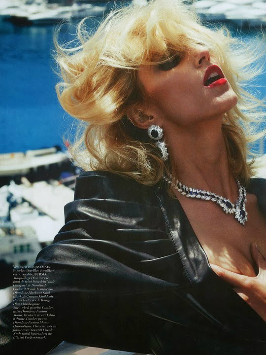 Anja Rubik By Mario Testino For Vogue Paris October 2013