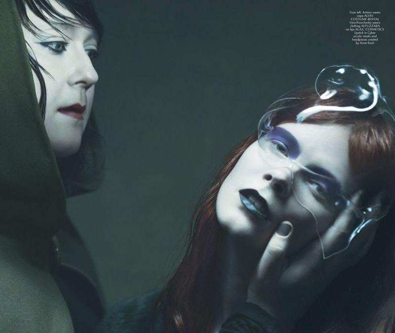 Anna Ewers, Ondria Hardin, Irina Kravchenko & Antony by Maurizio Bavutti for Cr Fashion Book Issue 3