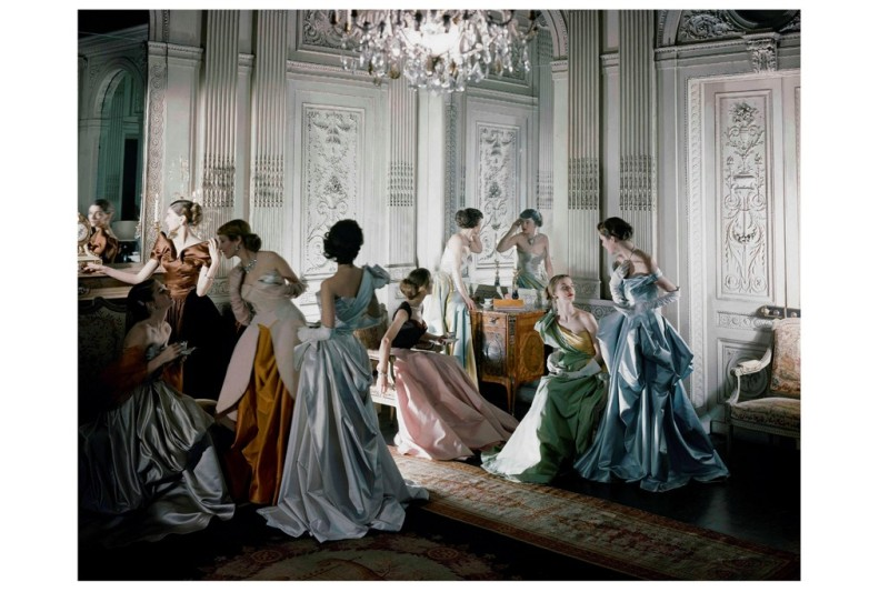 Ballgowns by James, 1948. Photo by Courtesy of The Metropolitan Museum of Art, Photograph by Cecil Beaton, Beaton : Vogue : Condé Nast Archive. Copyright (c) Condé Nast