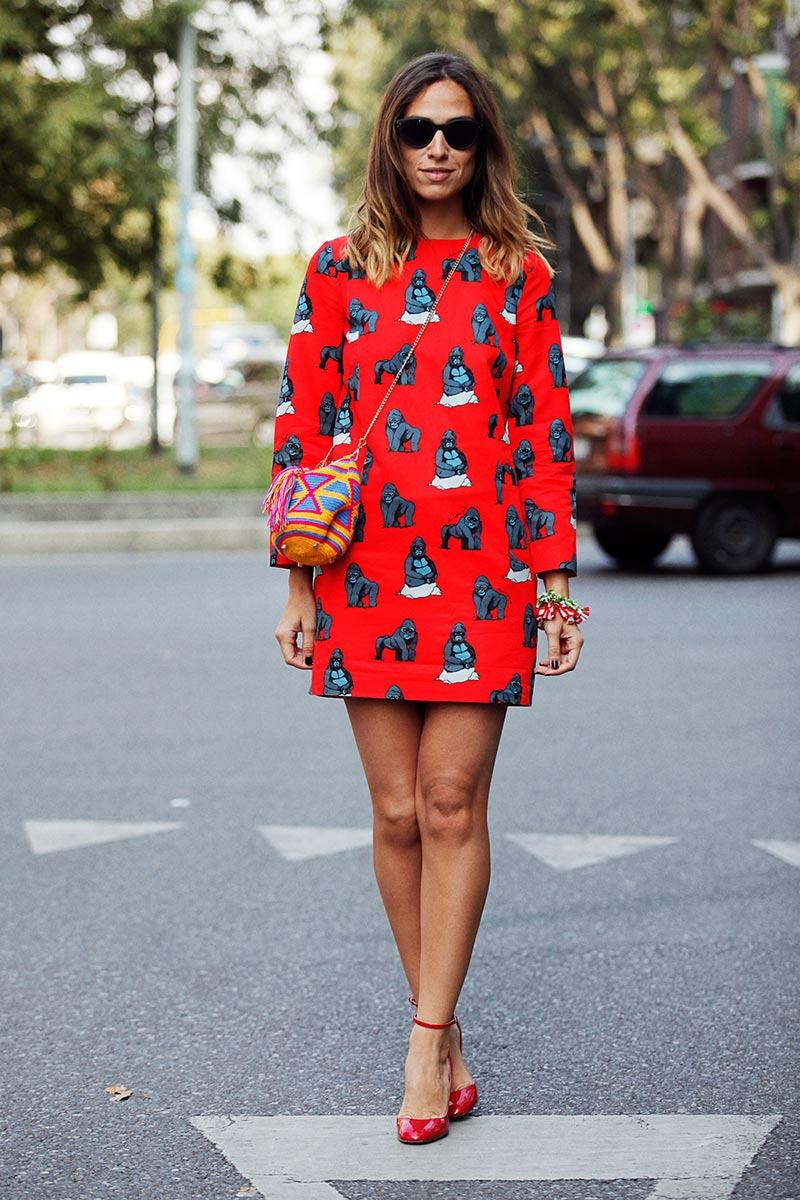 Best Street Style Looks At Milan Fashion Week Spring Summer 2014 21