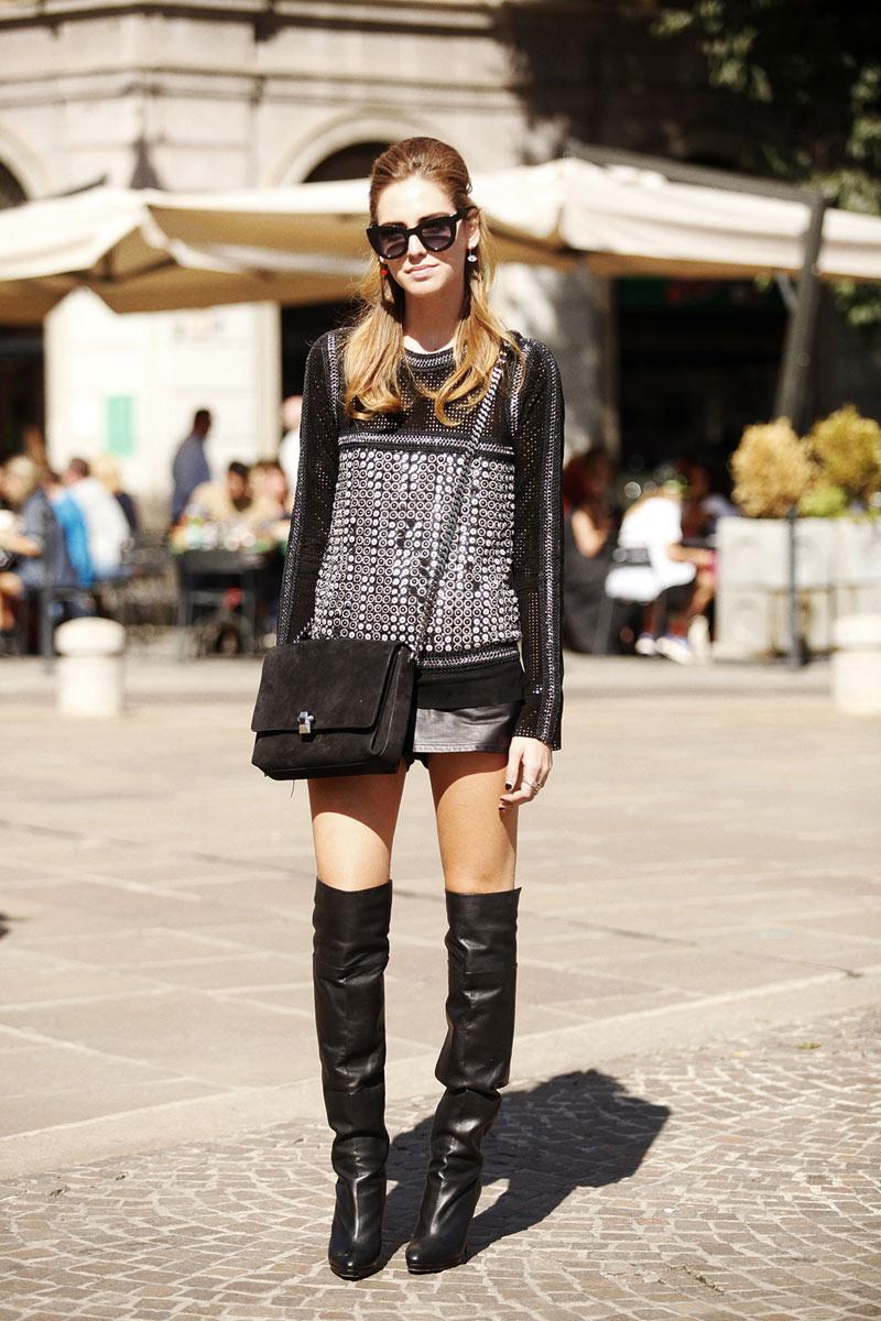 Best Street Style Looks at Milan Fashion Week Spring/Summer 2014