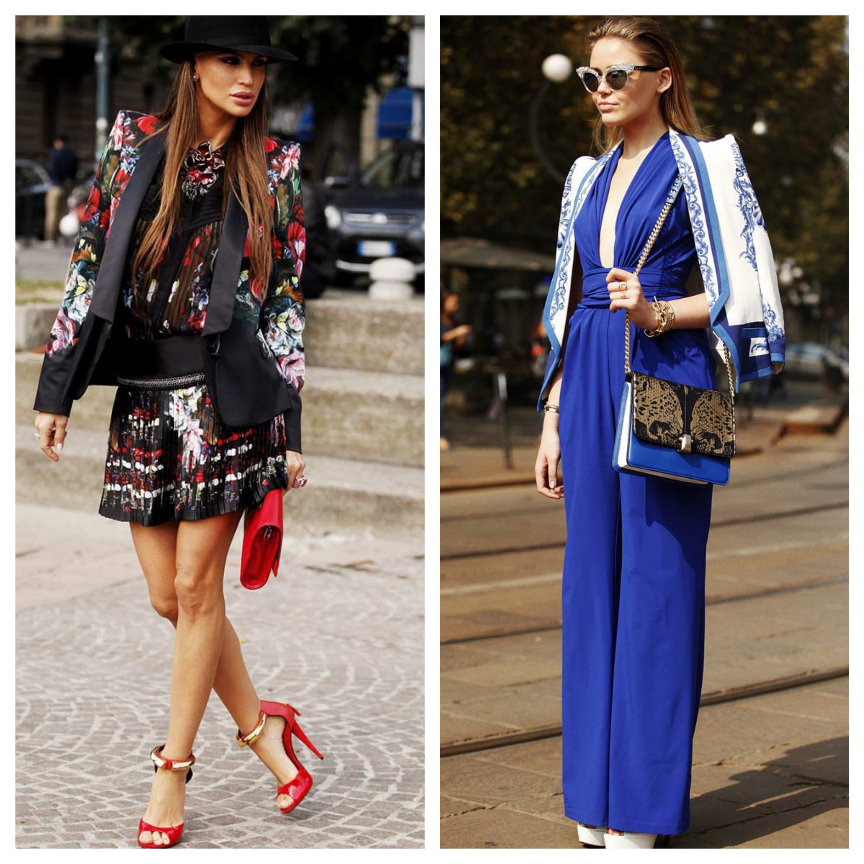 Best Street Style Looks At Milan Fashion Week Springsummer