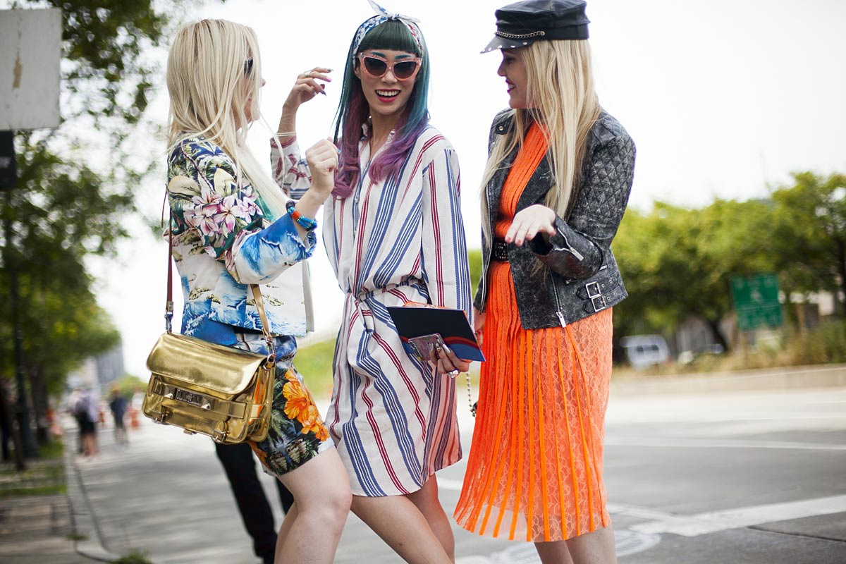 Best Street Style Looks At New York Fashion Week Spring