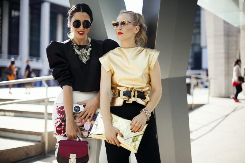 Best Street Style Looks At New York Fashion Week Spring Summer 2014 The Citizens Of Fashion