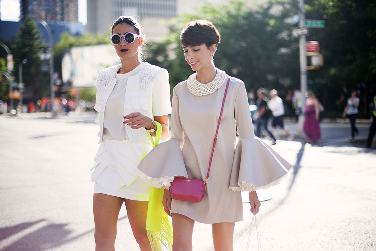 Best Street Style Looks At New York Fashion Week Spring Summer 2014 28 The Citizens Of Fashion