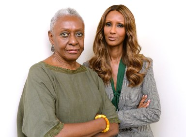 Bethann and Iman – Getty Images / Mike Coppola / Staff