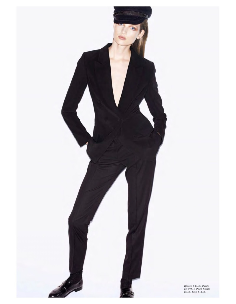 Bette Franke By Katja Rahlwes For H&M Magazine Fall 2013