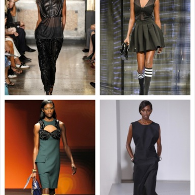 Black Models from Fashion Shows spring/summer 2014