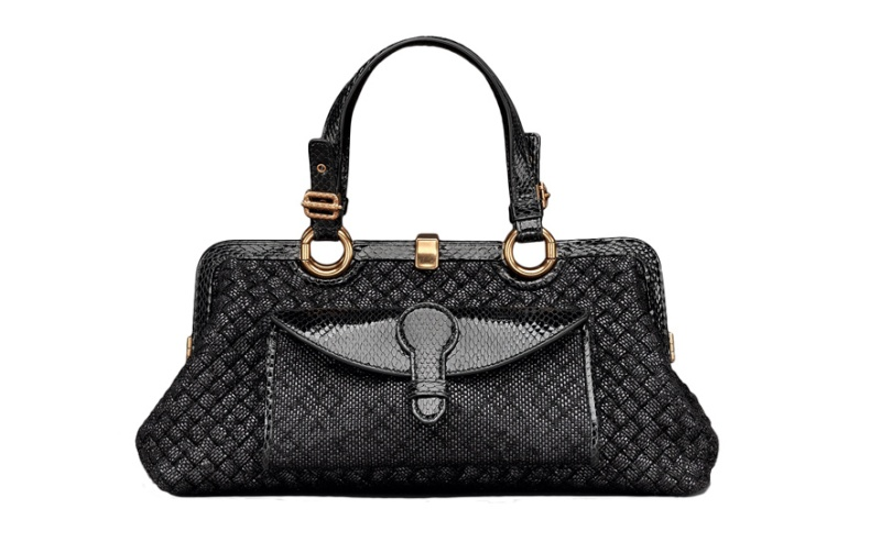 Bottega Veneta  Intrecciato calfskin leather bag
