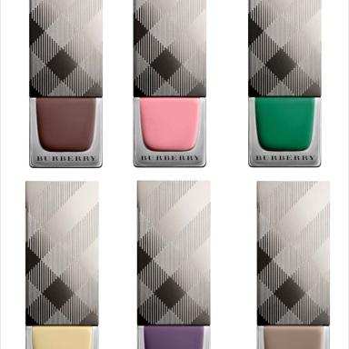 Burberry's spring/summer 2014 nail polishes collection