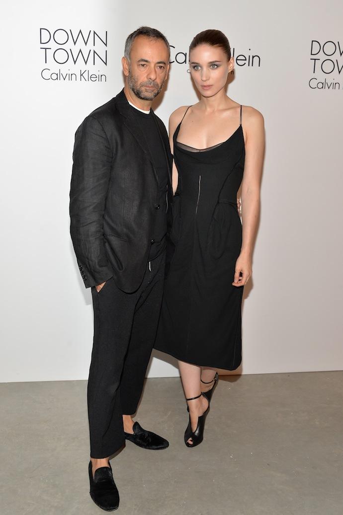 Francisco Costa and Rooney Mara